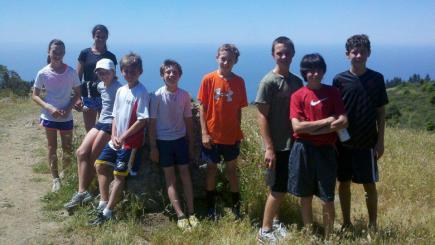Top of Cardiac during practice Dipsea 5/20/2012