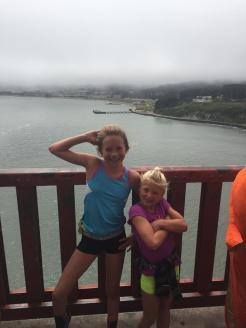 Kristen and Chloe GG Bridge 2016