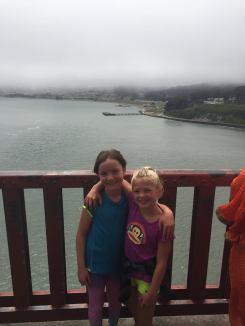 Kristen and Eva GG Bridge 2016