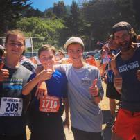 Da boys at the Dipsea 2018